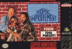 """TIL Home Improvement for the SNES did not include a real manual. Instead it included a fake manual with a sticker reading """"Real men don't need instructions""""."""
