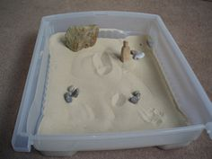 Desert sand box for kids (or adults!)