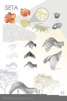 Biomimicry Architecture, Concept Models Architecture, Architecture Concept Drawings, Pavilion Architecture, Parametric Design, Presentation Board Design, Conceptual Drawing, Sketch Design, Architect Design