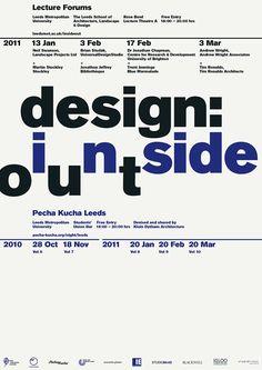 Bibliothèque (Mason Wells, Jonathon Jeffrey & Tim Beard) — Design: Inside Out Lecture Forums (2010)