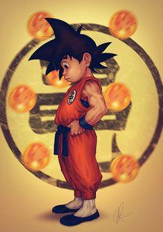 Hoje, 5 de maio, é comemorado o Dia do Goku no Japão, então fizemos uma seleção com 20 ilustrações do nosso guerreiro Saiyajin .