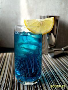 Blue Cider - przepis na drink   2DRINK.PL Blue Curacao, Recipies, Beverages, Cocktails, Vase, Recipes, Craft Cocktails, Cocktail, Vases