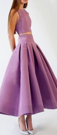 Beautiful two-piece dress. I like the midriff top, and the kinda drop-waist skirt and would were them every were!