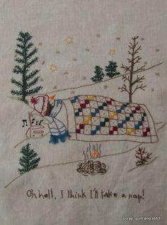 Scrap,quilt and stitch: Snow ladies