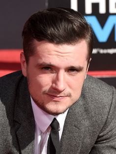"""""""Actor Josh Hutcherson attends Lionsgate's 'The Hunger Games: Mockingjay - Part 2' Hand and Footprint Ceremony at TCL Chinese Theatre on October 31, 2015 in Hollywood, California. """""""
