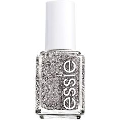 Live like a czarina with essie Encrusted Treasures Belugaria Nail Color, a richly ornamented jet black laced with highly textured matte glitter with flashes of holographic rainbow.