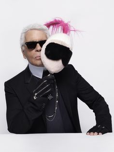Karl Lagerfeld, Alber Elbaz and Olivier Rousteing talk fashion designers' masked intentions: