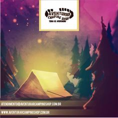 Aquarela tenda de campismo ina madeira b. Camping Shop, Tent Camping, Night In The Wood, Makassar, Wood Design, Vector Free, Watercolor, Painting, Beautiful