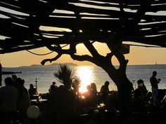 Kumharas. Sunset bar Ibiza