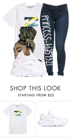 """""""8/1/16 """" by princess-kia54321 ❤ liked on Polyvore featuring Billabong and NIKE"""