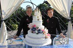 wedding cake tema castelli nel mondo