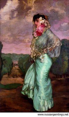 Ignacio Zuloaga Zabaleta, Mercedes http://www.pinterest.com/mscellanea/flamenco-paintings/