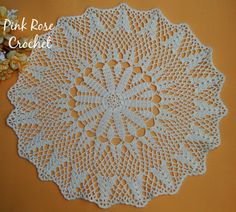 PINK ROSE CROCHET: Victorian Holiday doily