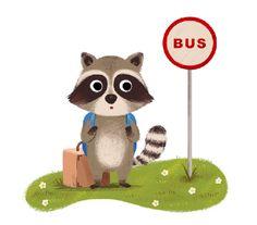 Raccoon - Yihsuan Wu Illustration