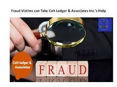 Colt Ledger & Associates inc.  is a trustworthy organization. It works exhausting to urge a refund for its purchasers. It investigates deeply each securities and commodities fraud and exerting to attain success.
