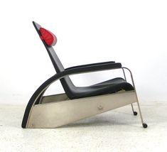 Jean Prouvé   poltrona grand lounge chair b   #chair #armchair