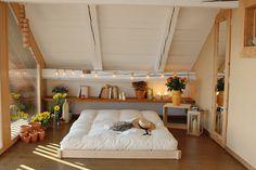 Lit tatami monté en moins de 3 minutes, sans clou ni vis Tatami, Europe, Space, Nature, Furniture, Home Decor, Solid Wood, Stream Bed, Home Decoration