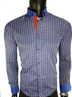 koszula męska w kratkę - - Koszule męskie - Awii, Odzież męska, Ubrania męskie, Dla mężczyzn, Sklep internetowy Shirt Dress, Mens Tops, Shirts, Dresses, Fashion, Vestidos, Moda, Shirtdress, Fashion Styles