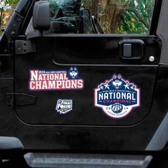 WinCraft UConn Huskies 2014 NCAA Men's Basketball National Champions 3-Pack Car Magnet Set - $5.69