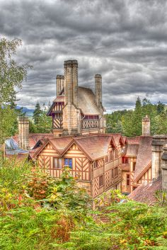 Cragside Country House, Northumberland, England