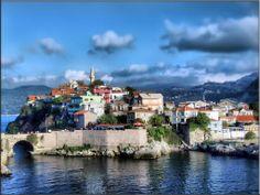 Amasra, en la costa del Mar Negro, en Turquia