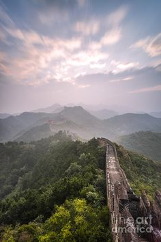 The Great Wall of China at Jinshanling_ China