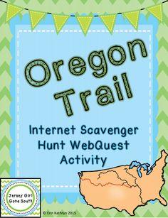 Westward expansion timeline activity timeline activities and oregon trail internet scavenger hunt webquest activity fandeluxe Gallery