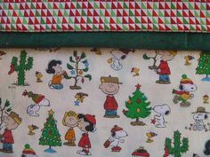Christmas Charlie Brown Pillowcase Kit DIY FREE SHIPPING