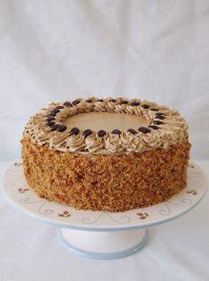 Zoet & Verleidelijk: Mokkataart Dutch Recipes, Baking Recipes, Sweet Recipes, Cake Recipes, Keto Recipes, Nougat Cake, Baking Bad, Mocha Cake, Piece Of Cakes