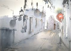 Pedro Orozco Tristán Watercolours, Watercolour Painting, Urban Sketching, Cities, Places To Visit, Inspiration, The World, Watercolor Paintings, Paintings