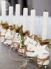 Gipsowe świeczniki