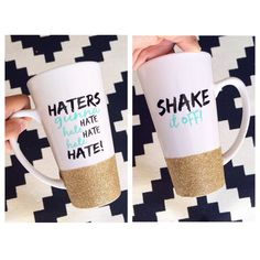 Coffee cups, Coffee and Glitter