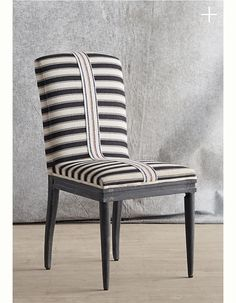 Grassland stripe chair / anthropologie