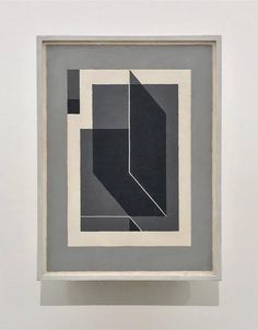 Josef Albers, Bent Dark Gray, 1943, Collection Solomon R. Guggenheim Museum, New York