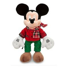 Mickey Mouse 17 Inch Christmas Disney Store Exclusive 2012 Plush -- Want to know more, click on the image.