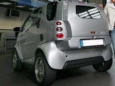 Berlin-Tuning.com - CLEVER-END smart 450 43856 Smart Auto, Smart Car, Mercedes Smart, Smart Roadster, Smart Fortwo, Small Electric Cars, Car Camper, Mini Trucks, City Car