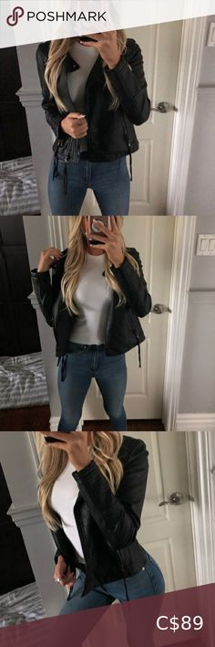Check out this listing I just found on Poshmark: Leather jacket. #shopmycloset #poshmark #shopping #style #pinitforlater #Mendocino #Jackets & Blazers Brown Faux Leather Jacket, Vegan Leather Jacket, Faux Leather Jackets, Leather Jackets For Sale, Jackets For Women, Topshop Joni Jeans, Adidas Cropped Hoodie, Strapless Bustier, Tracksuit Set
