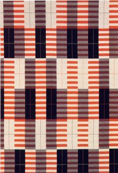 Anni Albers made me want to be a textile designer!