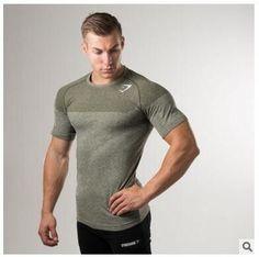 2017 Fall Lineup GYM SHARK's Well Muscled Batik Fitted T-Shirt