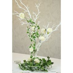 White Manzanita Tree (76cm) - Wedding Mall - Wedding Decorations, Table Centrepieces, Favours and Wedding Accessories,
