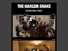 The Harlem Shake Harlem Shake, Poster On, The Originals