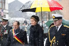 Queen Matilda of BelgiumQueen Matilda attends commemoration ceremony of the Battle of Bulge King Philip of Belgium and Queen Matilda of Belgium attended commemoration ceremony of 70th anniversary of the Battle of Bulge on December 13, 2014 in Bastogne. (The Battle took place during the second World War from December 16th 1944 until January 25th 1945)