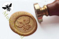 Recibirá el sello de sello de cera de Pc 1 con su carta recomendado: -Mide…