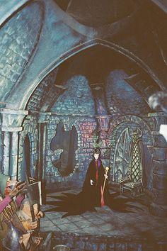 Disneyland Sleeping Beauty Castle walk-thru attraction in 1990.