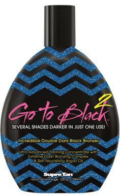 Supre Tan Go To Black™ Incredible Double Dark Black Bronzer