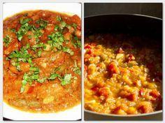 Gyuvecs – A lecsó és a rizses hús keresztezése! Próbáld ki, nem fogod megbánni! Chana Masala, Meat Recipes, Curry, Food And Drink, Tasty, Favorite Recipes, Paleo, Ethnic Recipes, Curries