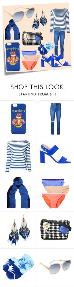"""amazing offer"" by denisee-denisee ❤ liked on Polyvore featuring Post-It, Moschino, Nobody Denim, Yves Saint Laurent, Manolo Blahnik, Magaschoni, Calvin Klein Underwear, Gas Bijoux, Vivienne Westwood and Stance"