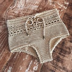 PDF-file for Crochet PATTERN Angela Crochet Bikini Bottom