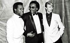 David is very bold. When we were doing the record he didnt have a record deal. He financed Let's Dance himself, so we didnt have to answer to anyone except each other, said Nile Rodgers (left)