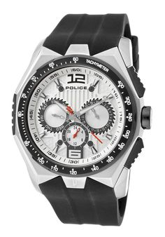 Price:$139.00 #watches Police 12894JSSB-04, This Police timepiece is uniquely known for it's classy and sporty look. It's accentuated design has made it one of the best sellers year after year.